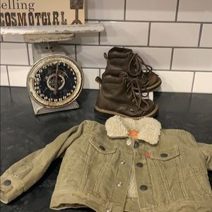 Baby boys Levi Corduroy jacket 18 months